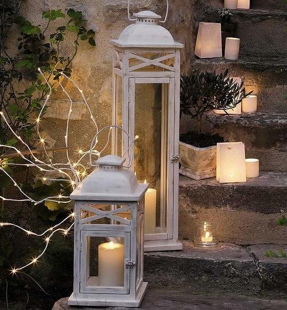 новогодние композиции со свечами 3
