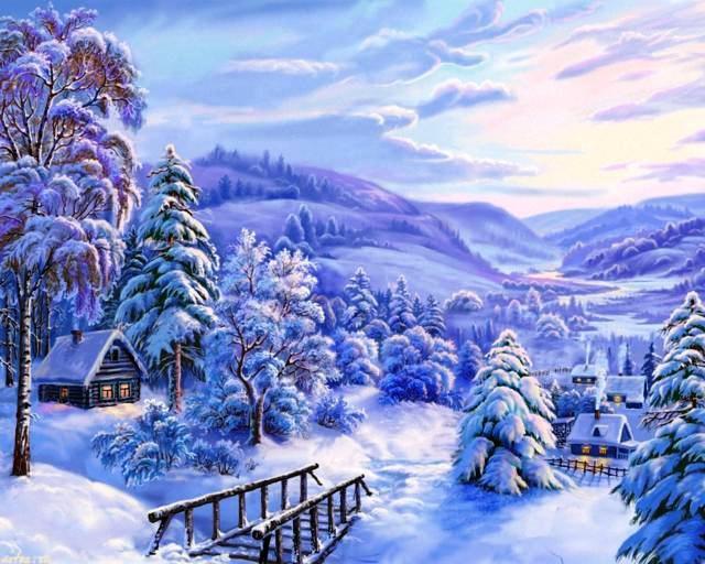 зима 9