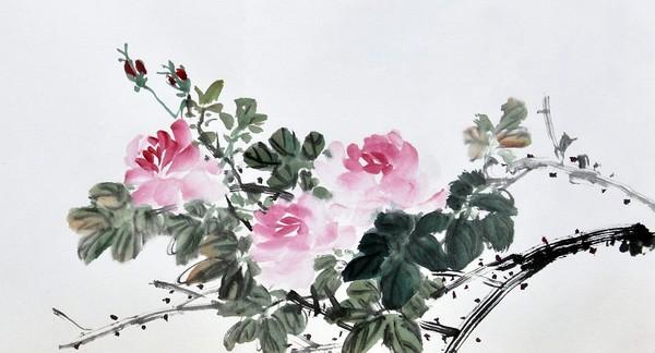 цветы в кинайской живописи 1