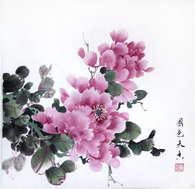 цветы в кинайской живописи 13а