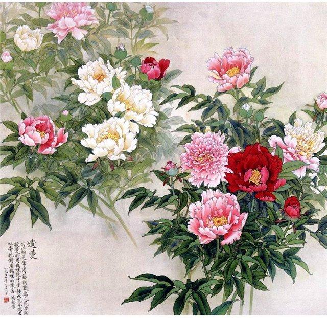 цветы в кинайской живописи 19а