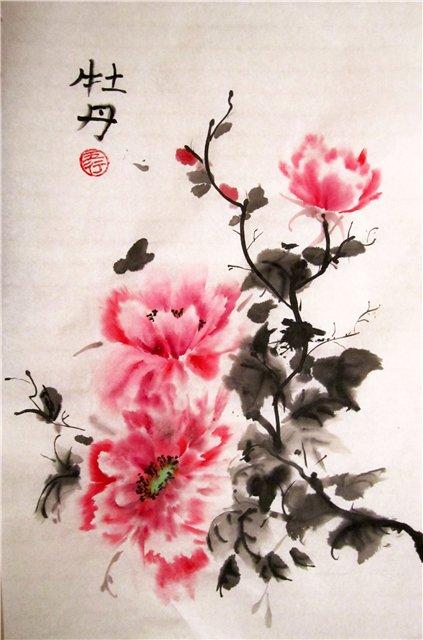 цветы в кинайской живописи 2а