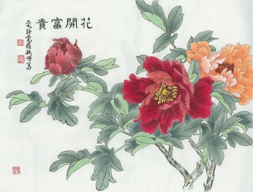 цветы в кинайской живописи 21