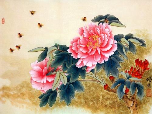цветы в кинайской живописи 29