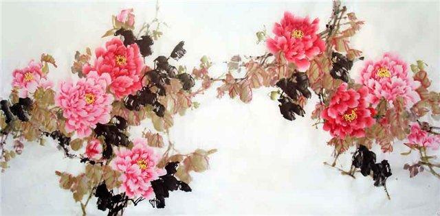 цветы в кинайской живописи 30а