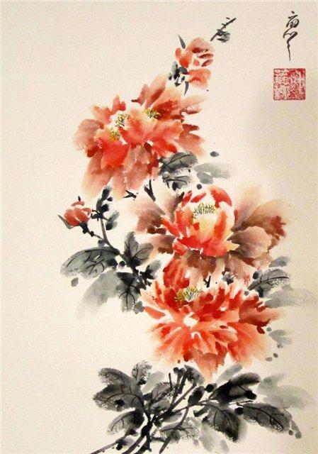 цветы в кинайской живописи 5а